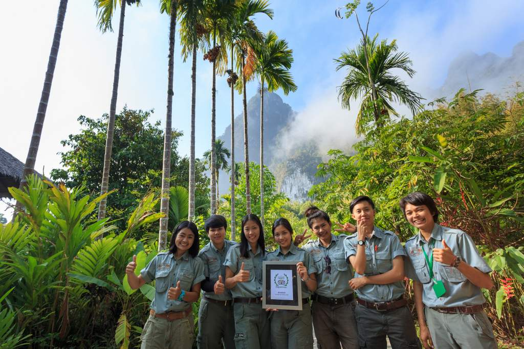 TripAdvisor rated Elephant Hills best tour operator in Khao Sok National Park.